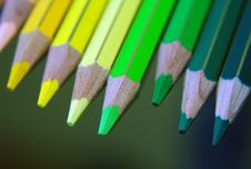 Free Color Pencils Royalty Free Stock Images - 4440459