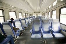 Free Russian Electric Train Stock Images - 4440484