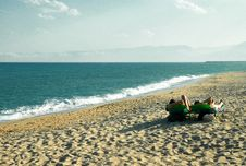 Free Relax On The Beach Royalty Free Stock Photo - 4440945