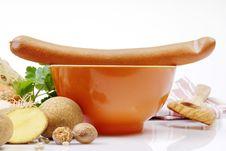 Free Sausage On A Bowl Stock Photos - 4441073