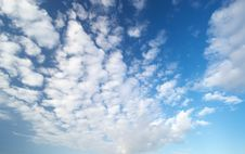 Free Fluffy Clouds Stock Images - 4441114