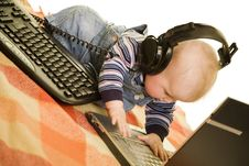 Free Techno-child Royalty Free Stock Image - 4441376