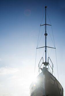 Free Silhouette If A Ship Stock Photos - 4441393