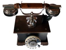 Free Old Telephone Stock Photography - 4442022