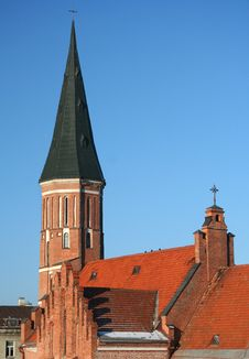 Free Old Town Red Roofs Royalty Free Stock Photography - 4442197