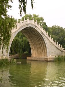 Free Bridge In Bejings Summer Palace Stock Photography - 4443392