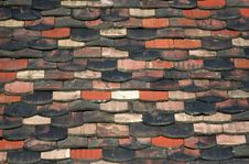 Roof-tile Background Stock Photos