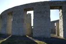 Free Stonehenge Replica 01 Royalty Free Stock Photography - 4443987