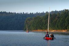Free Morning Sailing Royalty Free Stock Photography - 4444107