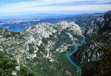 Free Gorges Du Verdon - Provence Royalty Free Stock Images - 4444209