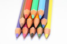 Free Colour Pencils Stock Photo - 4444500