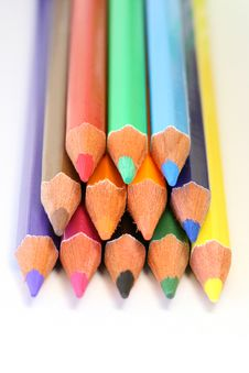Free Colour Pencils Stock Image - 4444501