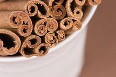 Free Cinnamon Sticks Stock Photos - 4444513
