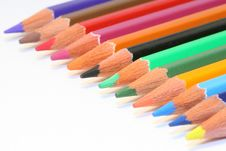 Free Colour Pencils Royalty Free Stock Photo - 4444515