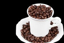 Free Coffee Cup Royalty Free Stock Photos - 4444518