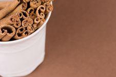 Free Cinnamon Sticks Stock Image - 4444521