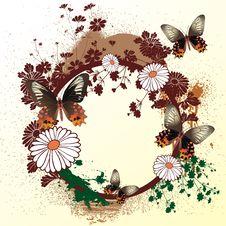Free Flowers Background Stock Image - 4444671