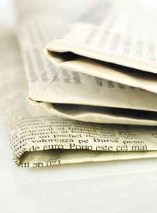 Free Newspapers Royalty Free Stock Photography - 4444857