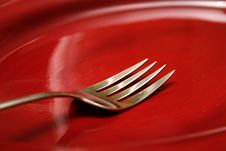 Free Fork Andplate Stock Photos - 4445093