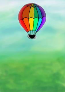 Free Balloon Royalty Free Stock Photo - 4445265
