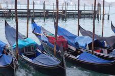 Free Gondola Park Venive Stock Image - 4445531