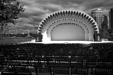 Free Amphitheater At Lake Eola Park Royalty Free Stock Photos - 4445638