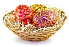 Free Easter Eggs Royalty Free Stock Image - 4445846