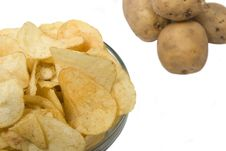 Free Potatoes And Chips Stock Photos - 4445893