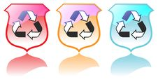 Set Of High Quality Recycling Icons Vectors Stock Photo