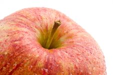 Free A Part Of A Fresh Red Apple Royalty Free Stock Image - 4446086