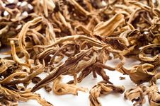 Free Dried Leaves Of Black Tea Royalty Free Stock Photography - 4446097