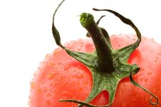 Free A Part Of Red Tomato Stock Image - 4446101