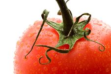 Free A Part Of Red Tomato Stock Photography - 4446102