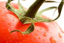 Free A Part Of Red Tomato Royalty Free Stock Photo - 4446105
