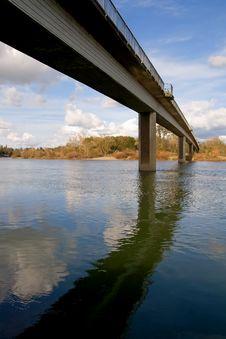 Free Long Bridge Across The River Stock Photos - 4446393
