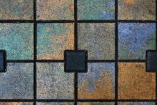 Free Abstract Multi-coloured Sidewalk Stock Photos - 4446803