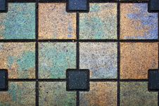 Free Abstract Multi-coloured Sidewalk Stock Images - 4446854