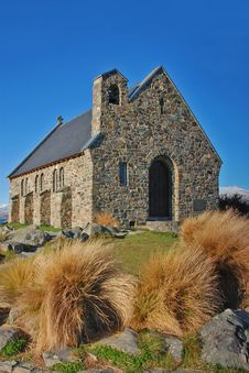 Stone Church Stock Photography