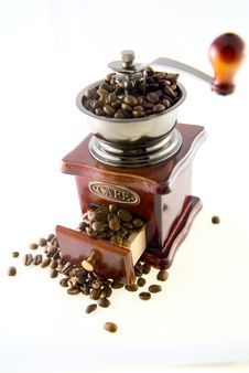 Free Coffee In Grinder Stock Photography - 4447722