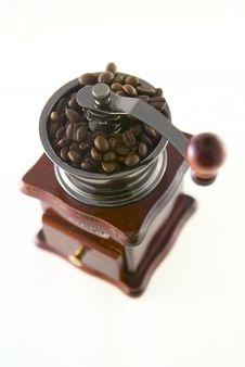 Free Coffee In Grinder Stock Image - 4447741