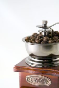 Free Coffee In Grinder Royalty Free Stock Image - 4447826