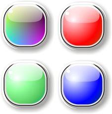 Free Buttons Stock Image - 4448171