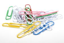 Free Paper Clips Royalty Free Stock Images - 4448189