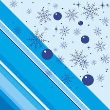 Free Snowflakes Background Royalty Free Stock Photo - 4448535