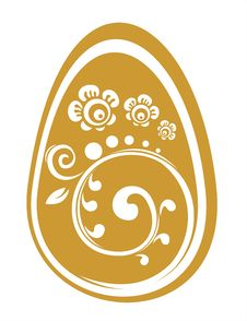 Free Gold Easter Egg Stock Photo - 4448810