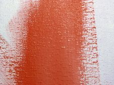 Free Red Paint On A Wall Stock Photography - 4448862