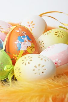 Free Easter Eggs Stock Photo - 4449270