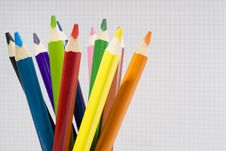 Beautiful Crayons Royalty Free Stock Images