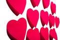 Free Sticky Hearts Stock Image - 4453521
