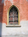 Free Peaked Window In Old Castle Stock Image - 4455261